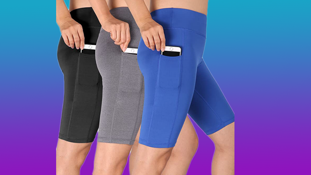 Cadmus Women's Workout Shorts with Pocket