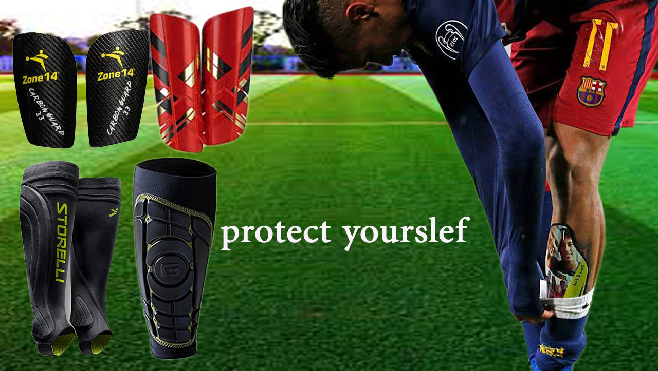 football -shin-guards