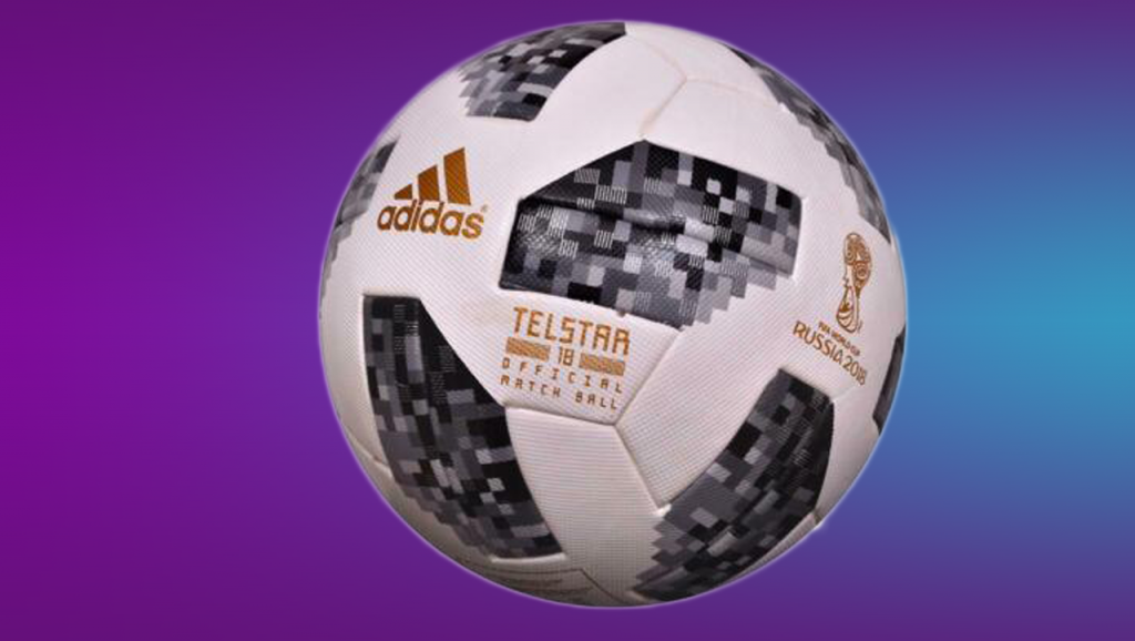Adidas Telstar 18 – The World Cup 2018 FIFA Approved Official Match Ball