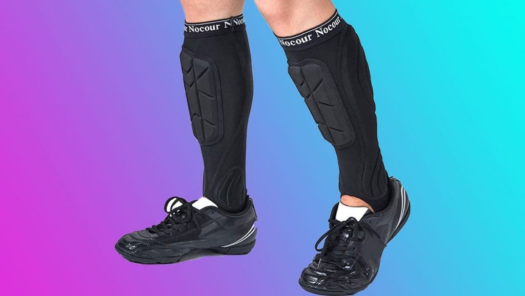 NOCOUR SOCCER SHIN GUARDS FOR KIDS YOUTH